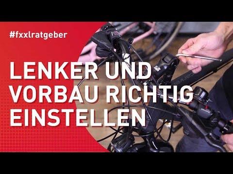 Fahrradlenker Richtig Einstellen Fur Eine Angenehme Sitzposition Youtube