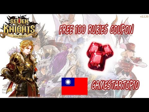 Seven Knights - FREE 100 RUBIES!! New Coupon Code (Januari 2017)