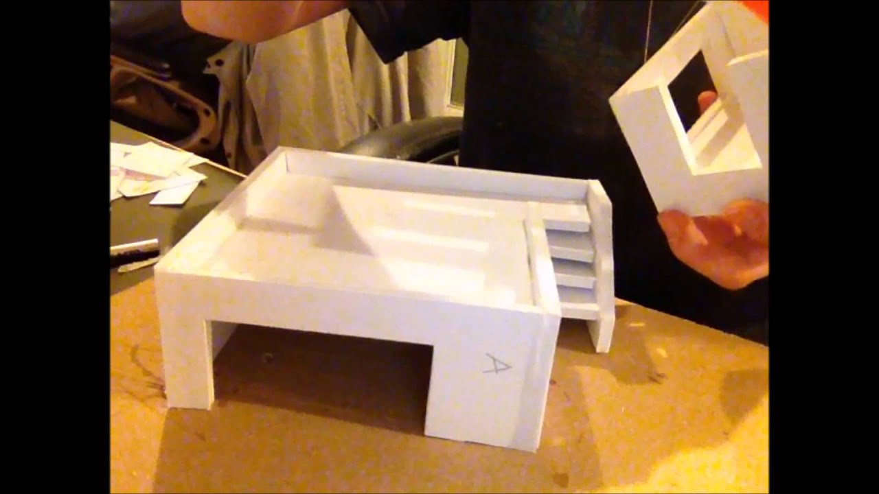 Foam Core Terrain: Building #1