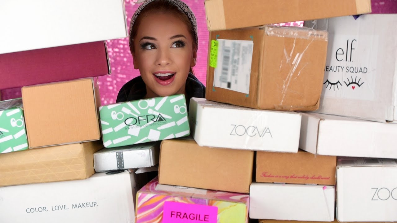 UNBOXING PR Packages | New Free Makeup