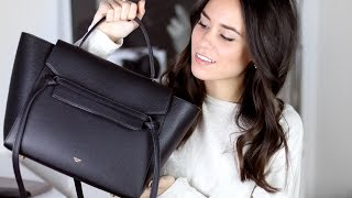 What's in my Bag + Céline Belt Bag Mini Review