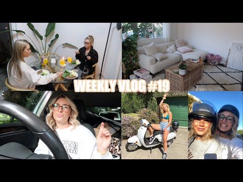 VLOG: I BOUGHT A SCOOTER, NEW COUCH & DINING SETTING