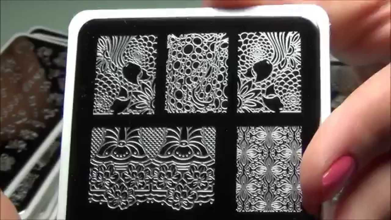 Infinity Nails Image Plates From Dashica With The MagnoNail Stamper ...