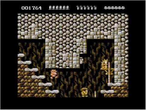 Atari 8-bit Rick Dangerous Teaser Trailer #2
