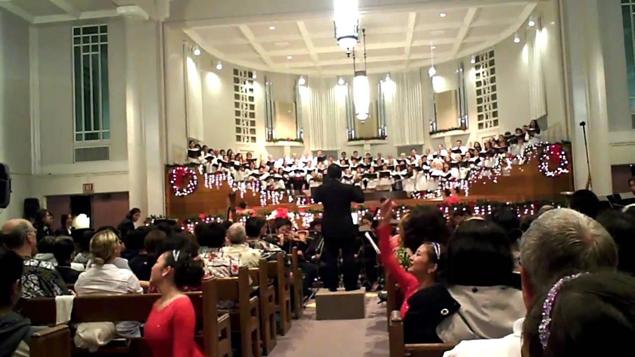 Mormon Tabernacle Honolulu Christmas Concert 2020 Honolulu Mormon Church   Christmas Concert 2010   YouTube