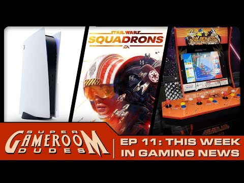 Playstation 5 Reaction! Star Wars Squadrons, Arcade1Up, iiRcade, Neo Geo Updates | SGD Ep. 11 from MichaelBtheGameGenie