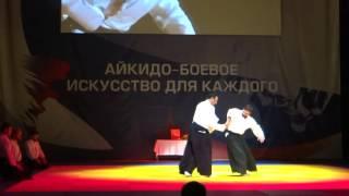 Стивен Сигал показательное выступление в Москве на фестивале Торнадо в 2015г.