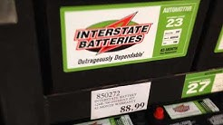Interstate Battery Prices at Costco August 2017 Northern California