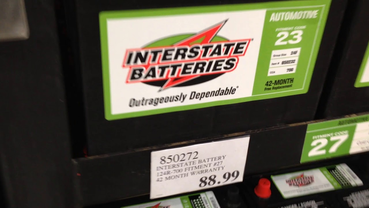 Interstate battery prices at costco august northern california also rh youtube