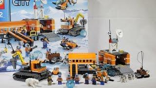 """Обзор конструктора Lego City Арктика 60036 """"Арктическая база"""""""