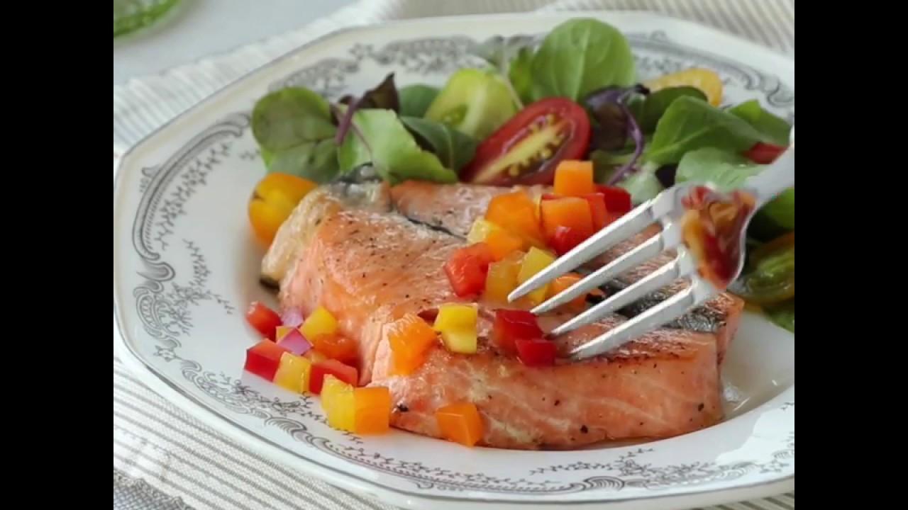 간단한 '연어구이'로 근사한 디너를 ~: Grilled Salmon Recipe [밥타임]
