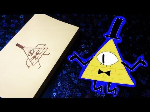 Как сделать Билла шифра из бумаги. UA-tv 86