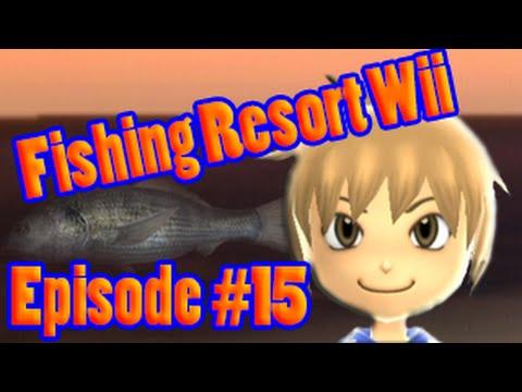 Fishing Resort Wii 100 Episode 15 Black Porgy Really