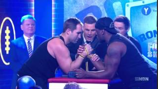 Video Ben Ross breaks arm Live on the Footy Show download MP3, 3GP, MP4, WEBM, AVI, FLV November 2017