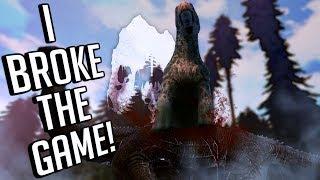 The Isle - TRAMPLE & CRUSH DINOSAURS! & Running Down Smaller Dinosaurs - Gameplay
