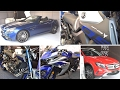 Jaipur Auto Expo 2017 | Yamaha MT 09 | Hayabusa | Daytona | R3 | GSX S-1000 | Gixxer SF | Audi A3
