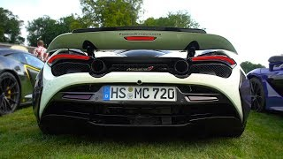810HP Novitec McLaren 720S with RACE Exhaust!