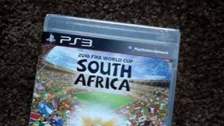 2010 Fifa World Cup South Africa Unboxing