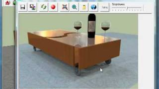 SketchUp Rendering  - Simple Object Rendering Using IRender nXt
