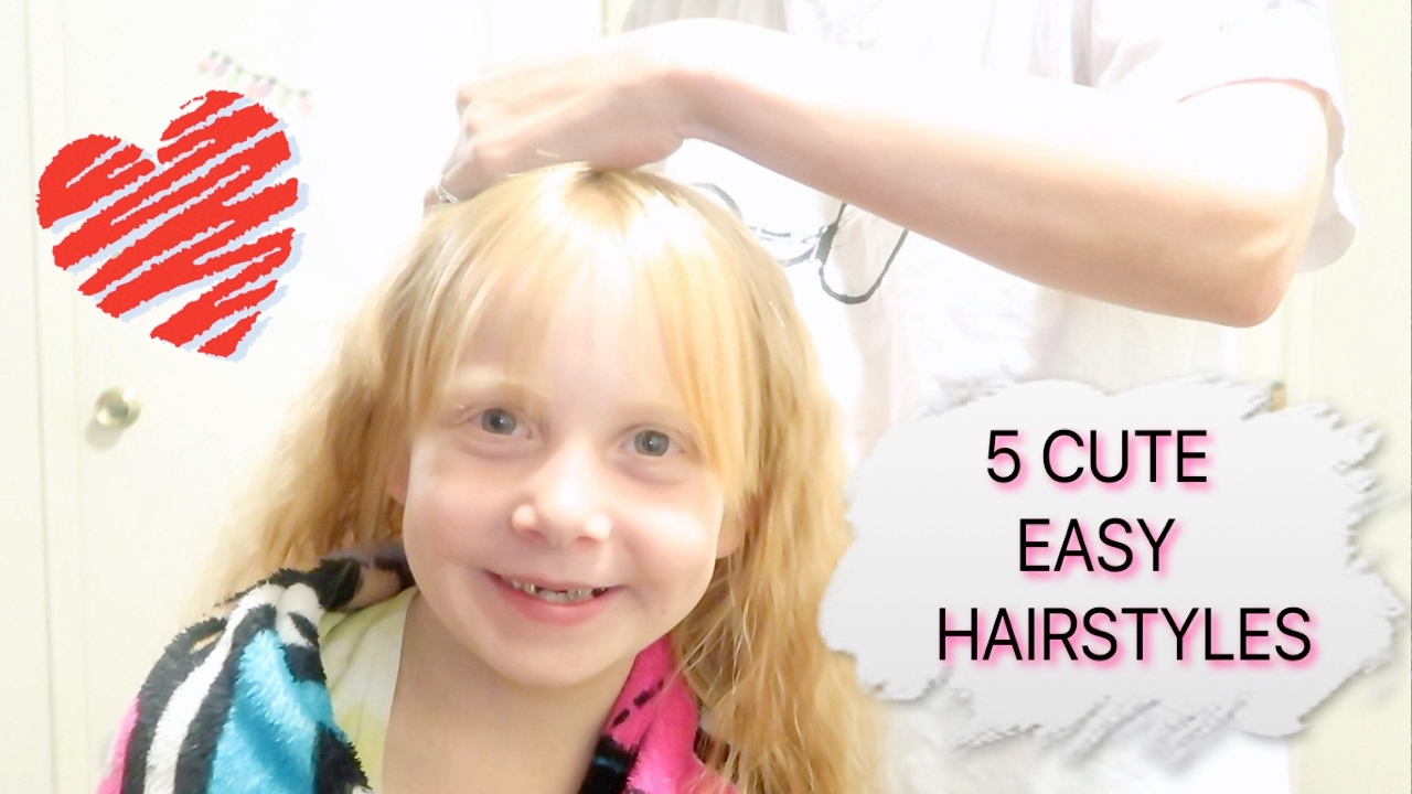 5 easy hairstyles girls