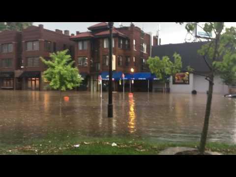 High Street Flood