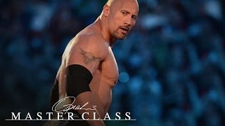What Dwayne Johnson Learned After Being Booed by 20,000 Wrestling Fans | Master Class | OWN