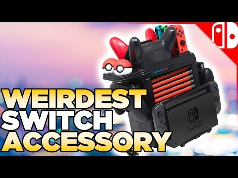 THE SUPER Switch Controller Charger +holder+dock holder+weirdness review