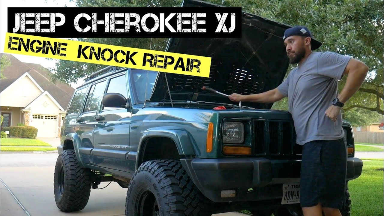 Engine Knocking Sound Jeep Cherokee Xj The 4 0 Making Bad Noises Youtube