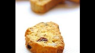 Recette de gâteaux marocains : Fekkas ou biscotti  حلويات مغربية : الفقاص