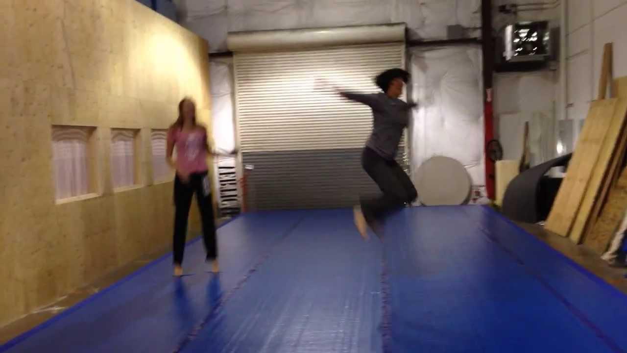 Bouncy Floor At APEX - YouTube