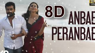 Anbae Peranbae 8D song || NGK Movie || Yuvan Musical || Use Headphones