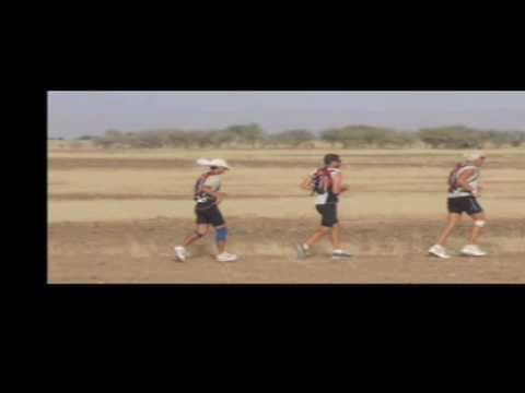 Charlie Engle Runs Across The Sahara Desert