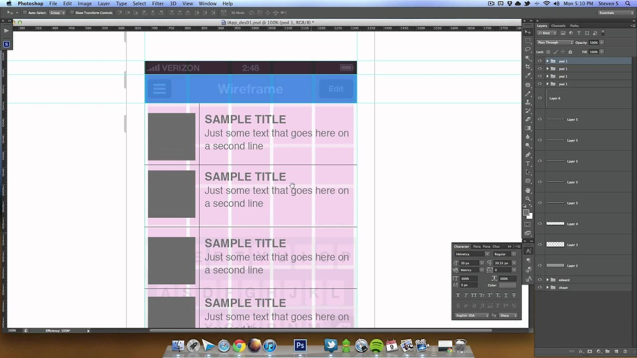 how to customize your iphone iphone application ui design in photoshop lesson 02 17127