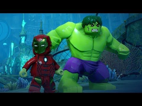 LEGO Marvel Super Heroes 2 - Lemuria - Open World Free Roam Gameplay (PC HD) [1080p60FPS]