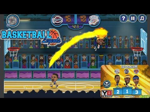 Basketball Legends Basketball Games Y8 Com Newbie Gaming Youtube