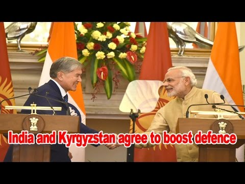 India and Kyrgyzstan will work to strengthen bilateral trade : NewspointTv