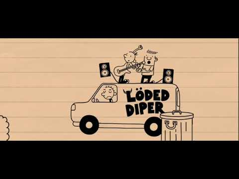 Diary Of A Wimpy Kid Rodrick Rules But Only The Animated Parts Youtube