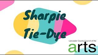 Creative Tuesdays with Liz: Sharpie Tie Dye Art