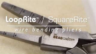 BeadSmith Spotlight: Wire LoopRite & SquareRite Pliers