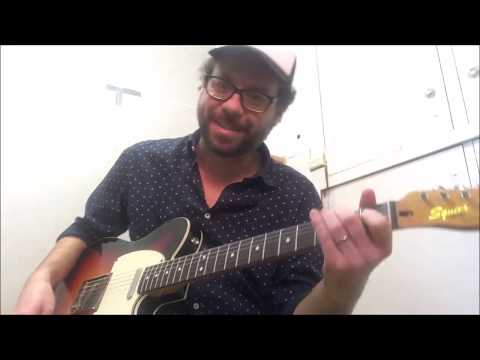 Chicken Pickin' Guitar Lesson 01 with James Kelly