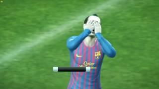 PES 2012 nostalgia barcelona vs real madrid xbox 360/ps3/ps2/pc