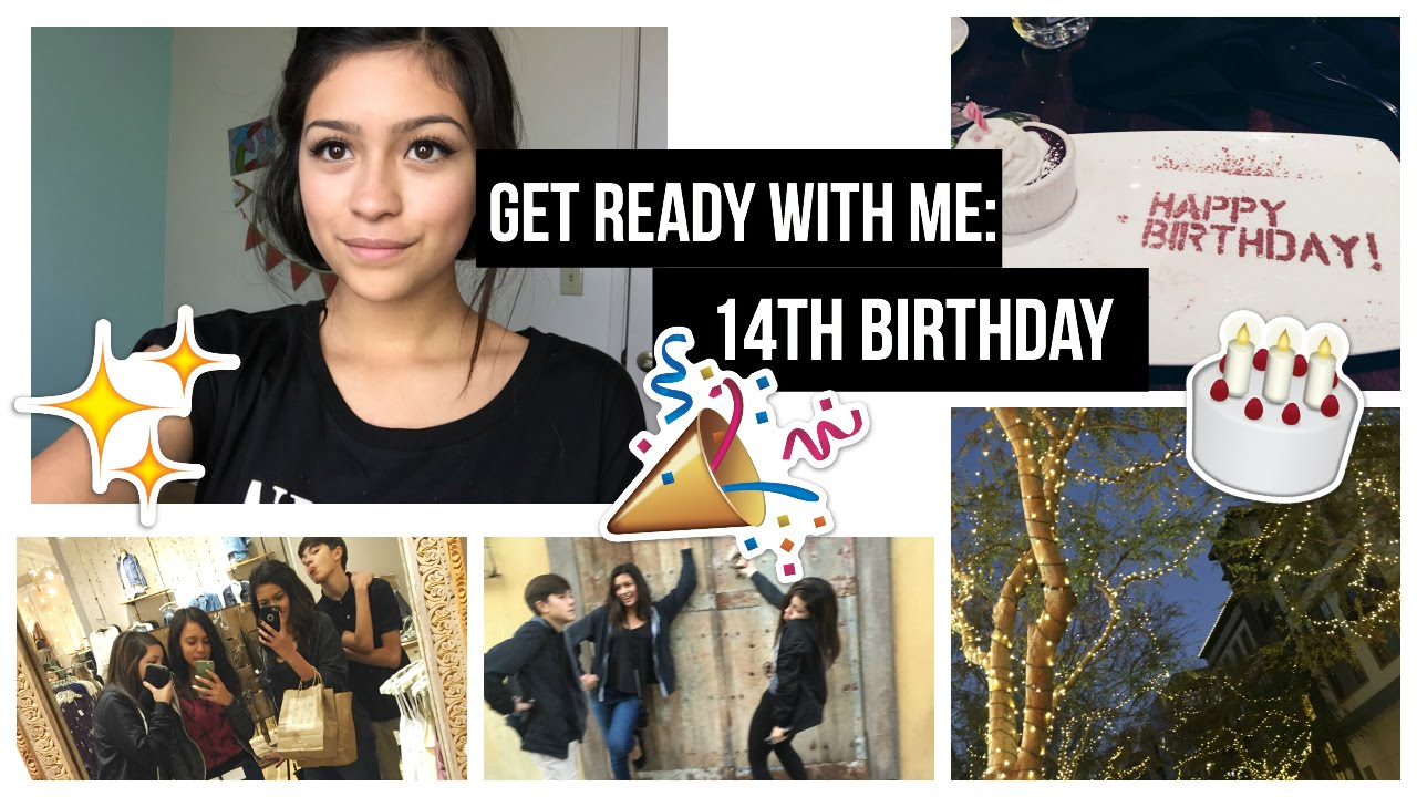 Get Ready With Me: 14th Birthday! - YouTube