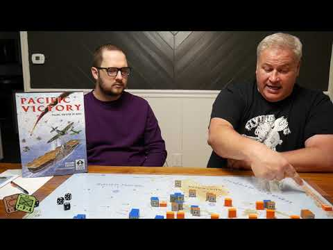 Review: Pacific Victory 2nd Ed. from Columbia Games - The Players' Aid