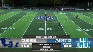 Gambar cover MSOC | LTU vs. Cornerstone 10/24/18 | Full Game