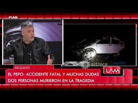 El productor de 'El Pepo' dio su versión sobre el estado del cantante al momento del accidente
