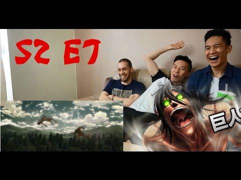 Attack on Titan Season 2 Episode 7: Close Combat Reaction