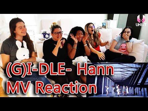 (G)I-DLE((여자)아이들) - HANN (Alone)(한(一) - MV Reaction By Uni-T
