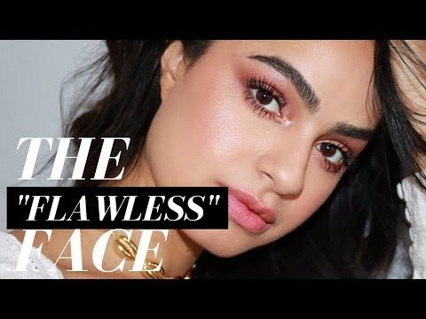 "THE ""FLAWLESS"" FACE MAKEUP TUTORIAL thumbnail"