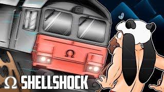 JIGGLY BOARDS THE SHELLSHOCK TRAIN!   Shellshock Live Multiplayer #9 Ft. Jiggly, Mini, Kryoz