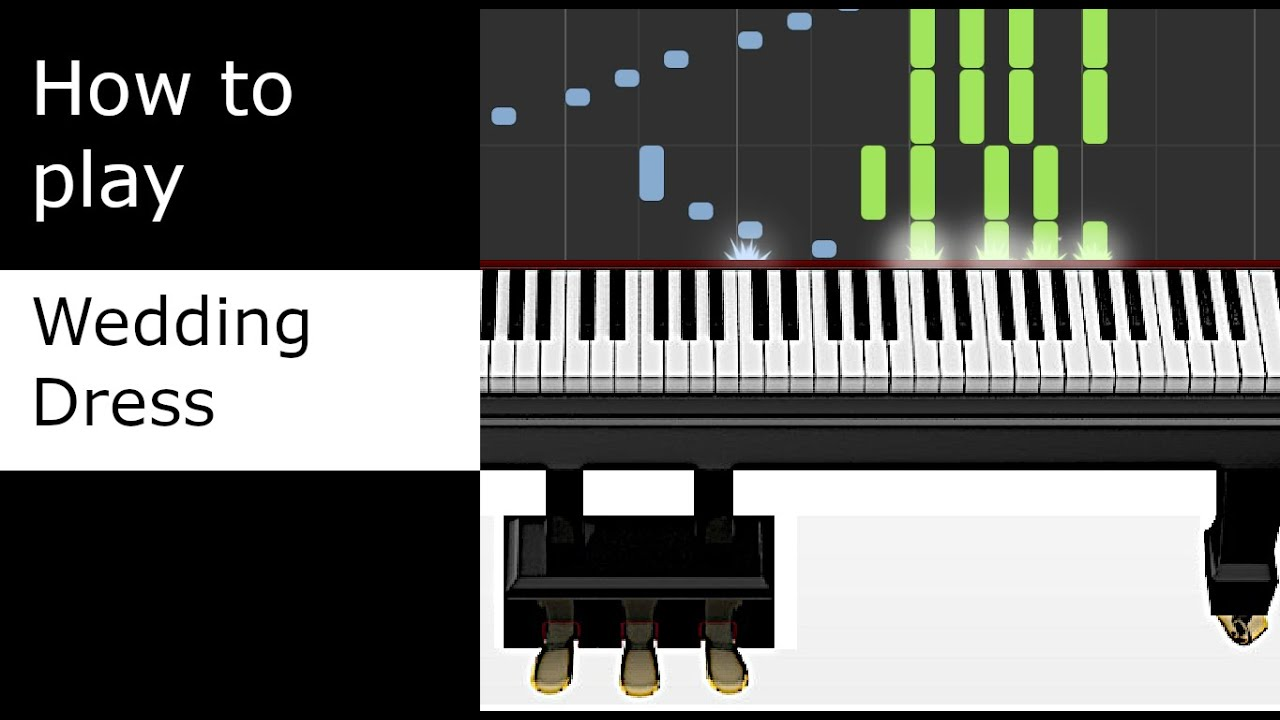 Best Wedding Dress Taeyang Piano Tutorial Synthesia With Sheet Music